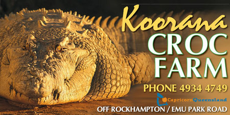 Koorana Saltwater Crocodile Farm