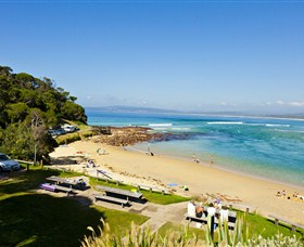 Merimbula Bar Beach
