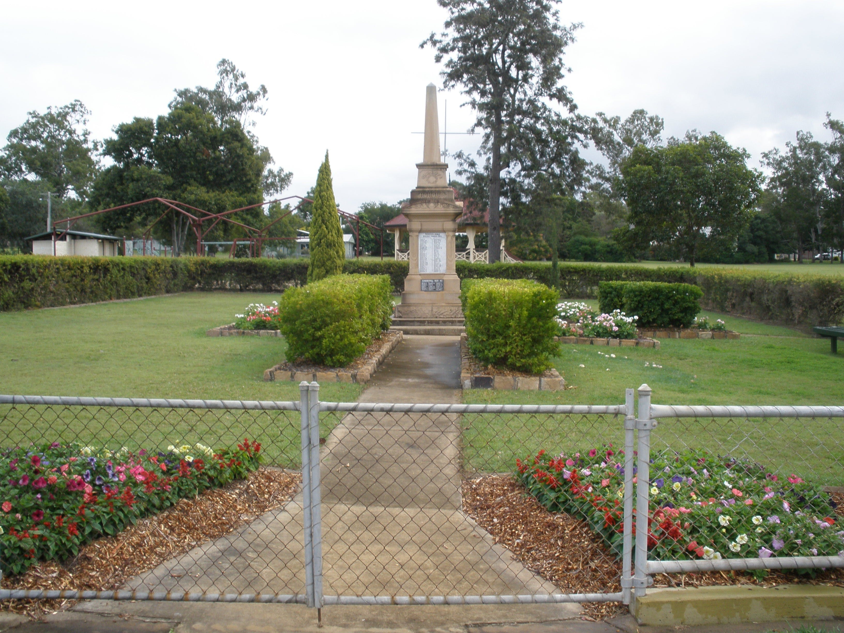 McConnell Park and Toogoolawah War Memorial