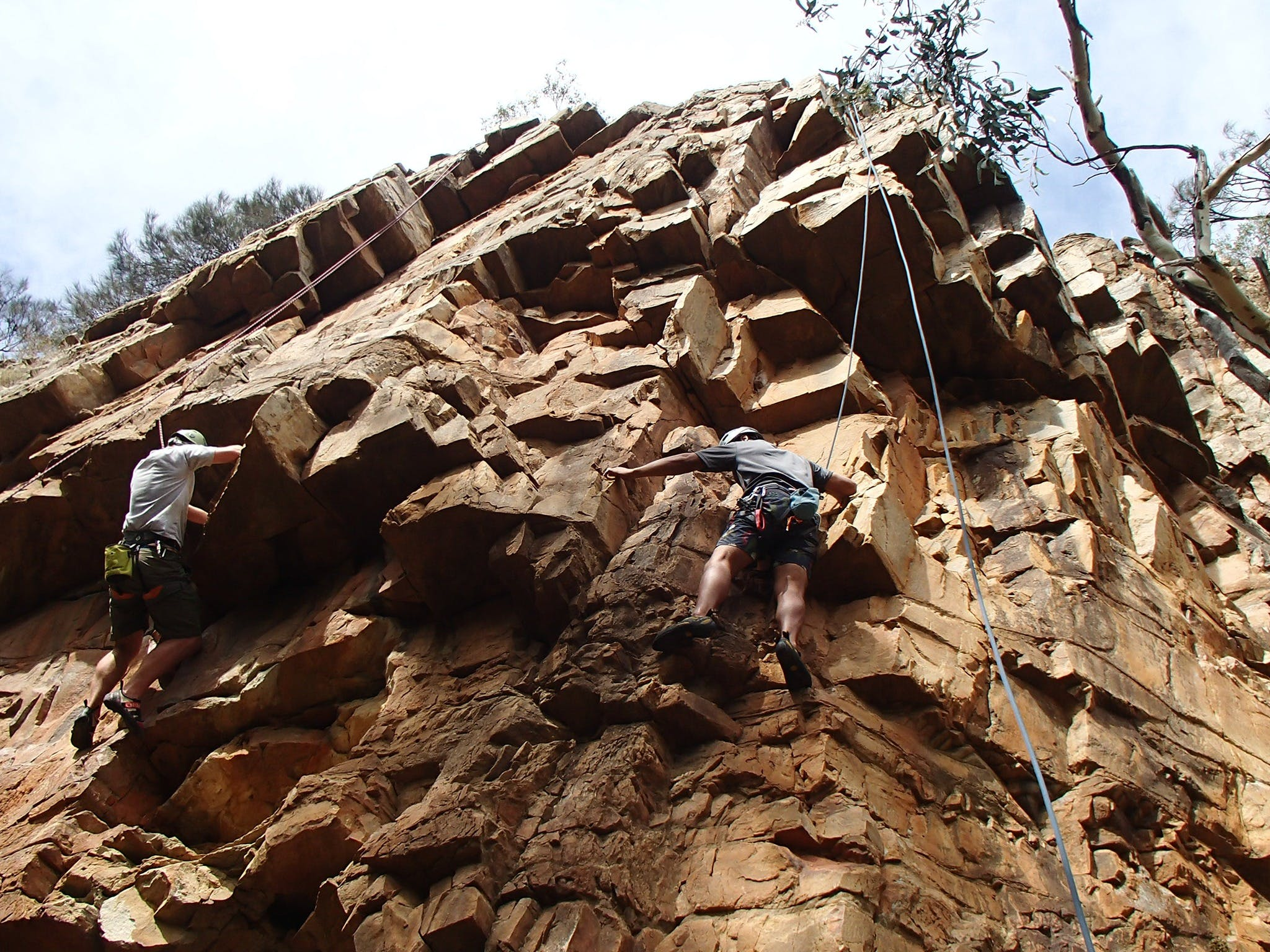 Rock Climbing in Morialta