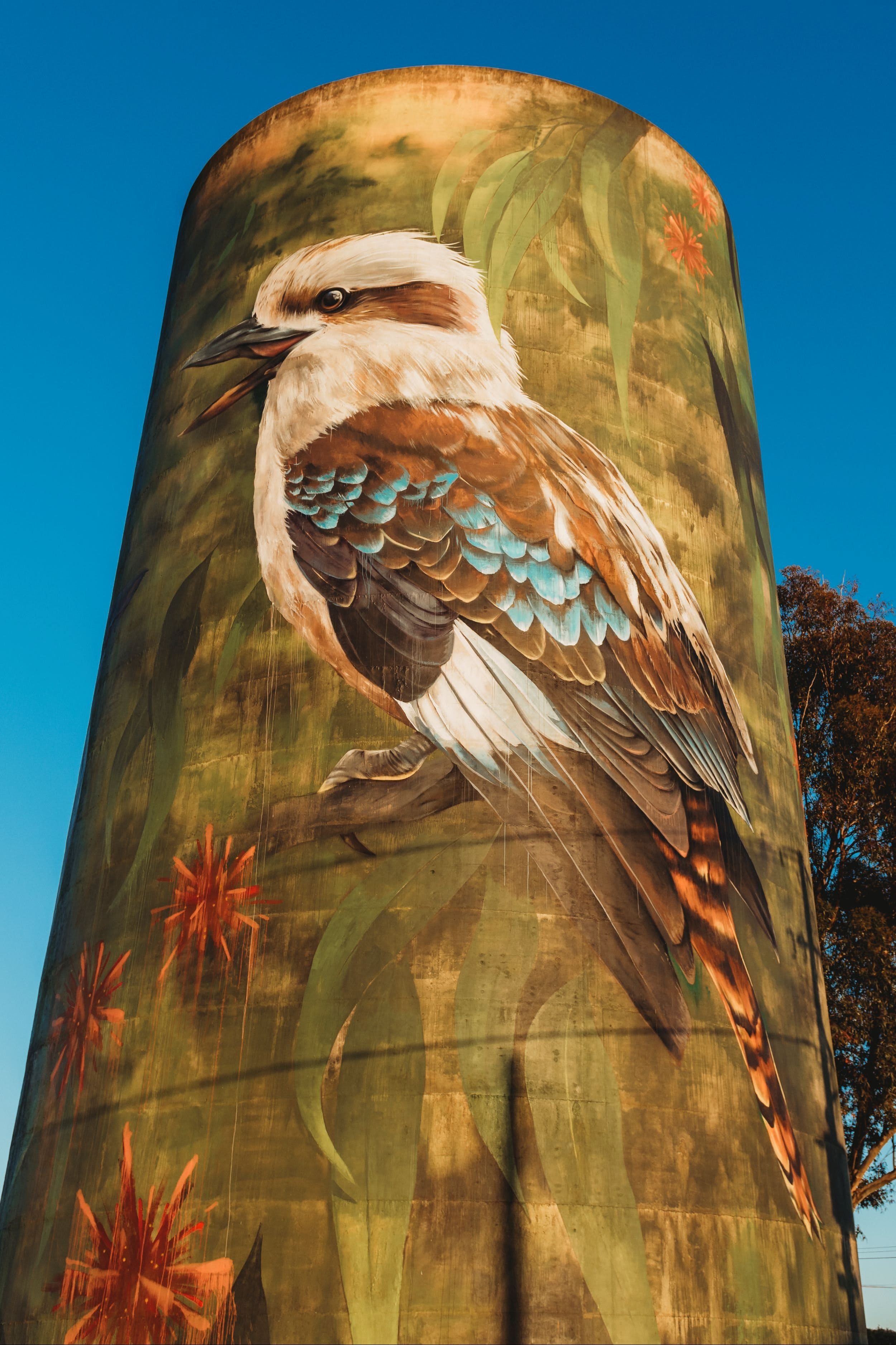 Deniliquin Water Tower Mural