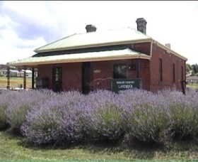 Lavender House in Railway Park